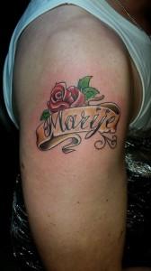 rose-name-banner-tattoo