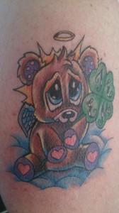 teddybear-angel-clover-tattoo