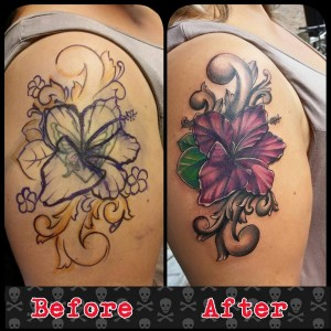 flower-hibiscus-tattoo-coverup