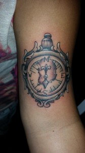compass-tattoo